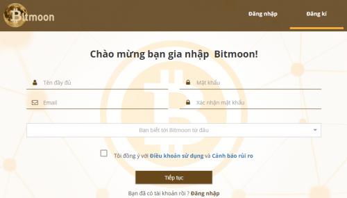 Hướng dẫn đăng ký, xác minh tài khoản sàn giao dịch bitmoon
