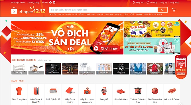 Affiliate với Shopee